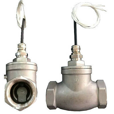 Liquid flow switch sensor NPT 3/4 inch female/female Stainless Steel FSS-N2FF-SS