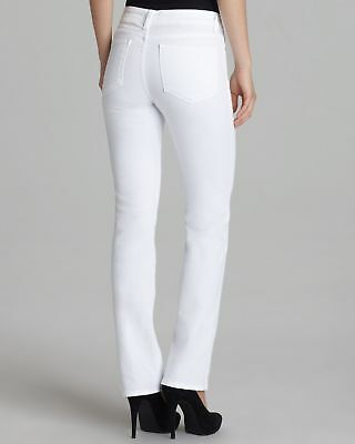 NYDJ Women's Marilyn Straight Optic White Lift & Tuck Women's Jeans 8 Nwt