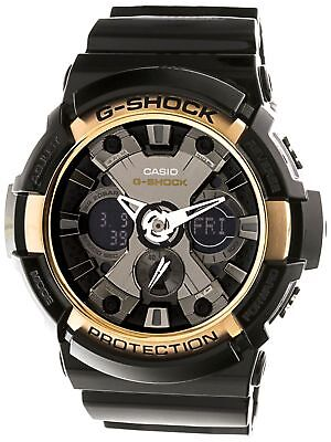 Casio Men's GA200RG-1A 'G-Shock' Black Resin Watch