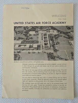 Air Force Academy Campus Map.Vintage U S Air Force Academy Falcons Magnet Enamel 119