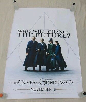 Fantastic Beasts 2 The Crimes of Grindelwald 4 BUS SHELTER MOVIE POSTER 4'x6'