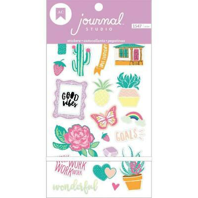 American Crafts - Journal Studio Planner Sticker Book 1547 Stickers / 30 pages