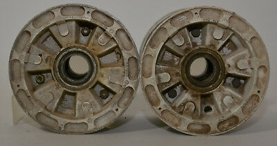 Pair of McCauley Aircraft Rim Wheel Assembly 6.00-6 Type III TSO C26b 2pc Rims