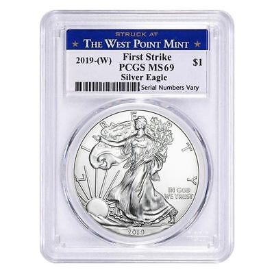 2019-W Pcgs Ms-69 First Strike Silver Eagle ~ Read: Seven Reasons To Purchase