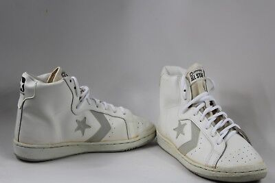 7e0b50cd4fdd Vintage New Converse All-Star High Tops Leather 1980s Dr. J Julius Erving  9.5