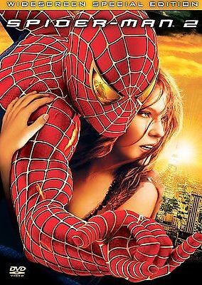Spider-Man 2 (DVD, 2004, Special Edition Widescreen) dvd movie disc only aaa
