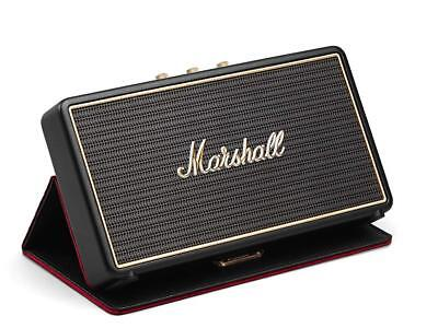 Marshall Stockwell Portable Bluetooth Speaker Flip Cover 25 hours of play time