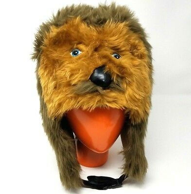 1acd941b6f8 Disney Parks Authentic Chewbacca Hat Cap for Adults One Size Very Good  Pre-Owned