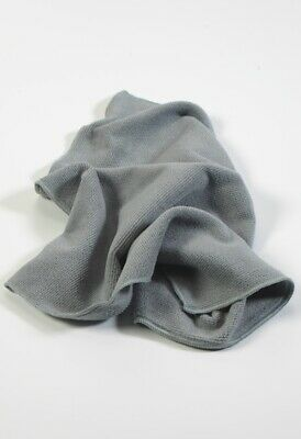 Microfibre cleaning cloth. Premium quality 300gsm 40x40cm. Pack of 10 Grey