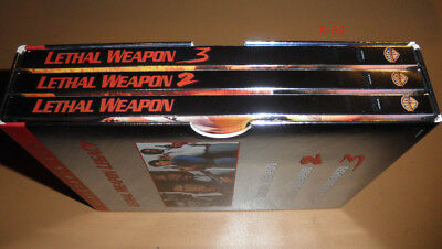 LETHAL WEAPON 1 2 3 BOX Director's Cut DVD SET mel gibson danny glover r donner