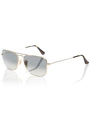 Lunettes De Soleil Ray-Ban 0RB3136 Caravan - 55mm Or Light Gris Gradient  Dark Gr 0011204ac2e2