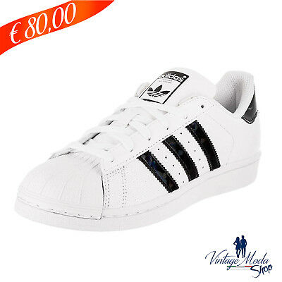 new product c865d 744fa Adidas Calzature Superstar J Unisex Shoes DB1209 Scarpa Casual Sneaker  Bambini