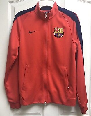 fe31933c1 NIKE FCB BARCELONA Spain Soccer Football Jersey Mens Dri-Fit Euc ...