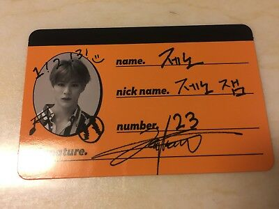 NCT Dream JENO [ WE GO UP Official CREW CARD Photocard ] 2nd Album / New /+Gift