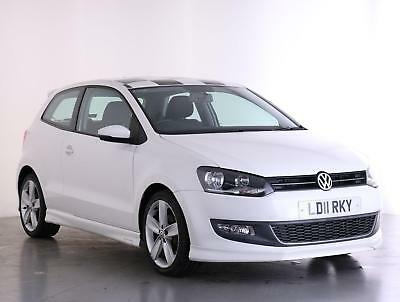 2011 Volkswagen Polo 1.4 SEL 3dr Petrol white Manual