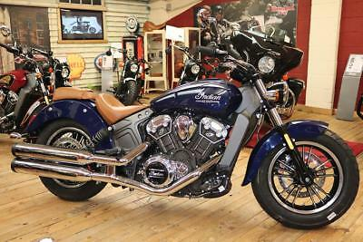 2019 Indian Scout Deep Water Metallic Blue Brand new in stock available now