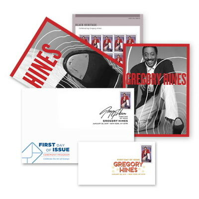 USPS New Gregory Hines Stamp Ceremony Memento