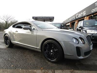 2010 Bentley Continental 6.0 GT Supersports 2dr PX/SWAP