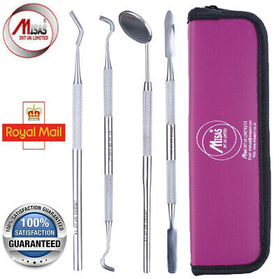 MISAS Hygienist Therapist scalers Tartar Calculus Remover Set Dental Tools 4 Pcs