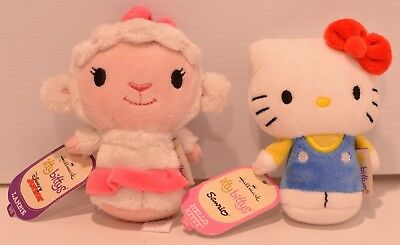 0d17cc8ea Hallmark itty bitty bittys Hello Kitty Disney Junior Lambie Lamb New Tags  Plush