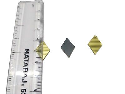 18mm DiamonGolden Craft Glass Mirror Mosaic Hand Cut Stained Small Tile Decor