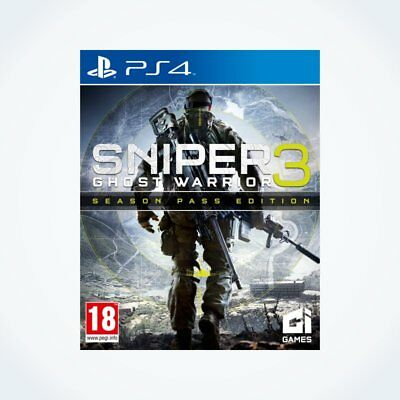 SNIPER GHOST WARRIOR 3 : EDITION SEASON PASS sur PS4 / Neuf / Sous Blister / VF