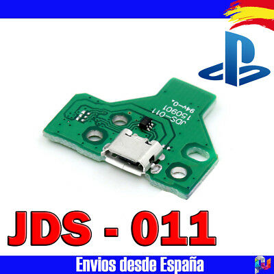 Placa Para Mando Ps4 Playstation 4 Jds 011 Conector Carga Micro Usb 12 Pin