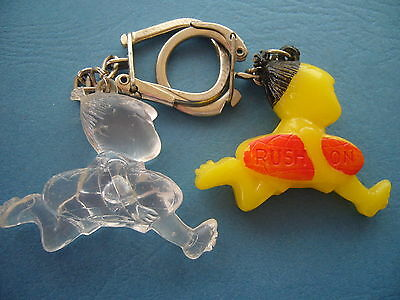 Porte-clés-Keychain-Portachiavi- Lot 2 PC Figurines RUSH ON