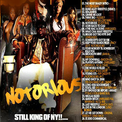 WHO'S THE GREATEST MC's Biggie Smalls STILL NOTORIOUS Mixed CD Rap Hip Hop