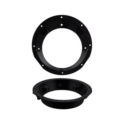 Pair of Interface Ring Distance Pieces 6 - 6.5 in. Speakers for Harley-Davidson