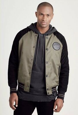 e1af248e2 MEN'S TRUE RELIGION Reflective Russell Westbrook Jacket Size Small ...