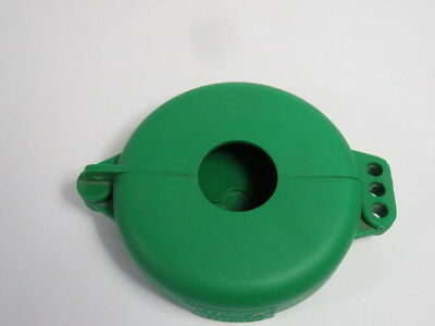 "North VS04G Green Lockout for Wheel Valve for Size 2-1/2-5""  USED"