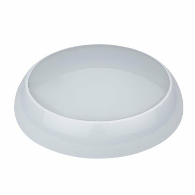 Round 3hr Emergency LED Bulkhead Maintained Non Maintained IP65 Ceiling Light