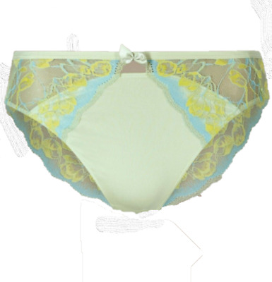 Brand New Ex M&S Plus Size Floral Lace Brazilian Knickers Size 28