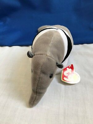 """Ty Beanie Babies 1997 /""""Ants/"""" the Anteater 11//7//97 MWMT"""