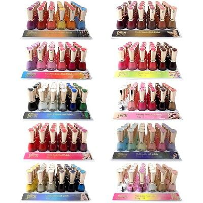 Saffron Nail Polish/varnish 13Ml Glitter/pearl/cream Etc ***choose Your Shade***