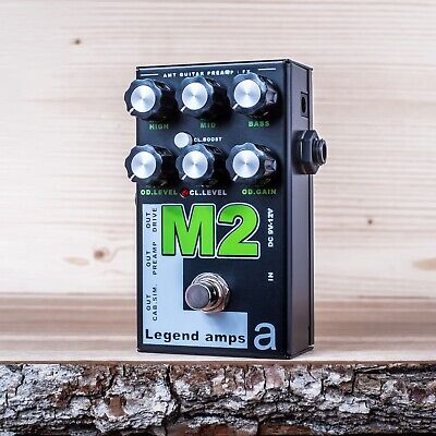 AMT Electronics M2 (Marshall) –guitar preamp (distortion/overdrive) effect pedal