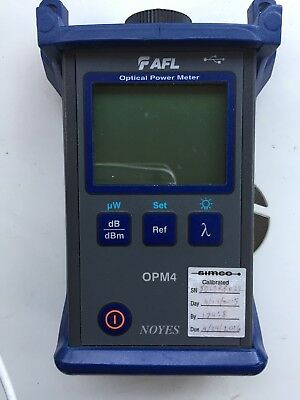 AFL NOYES OPM 4 Fiber Optic Power Meter