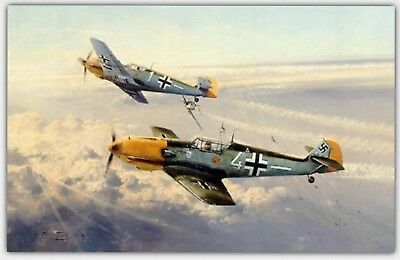 Eagle Attack by Robert Taylor,WWII Aviation, Me109, Luftwaffe,Battle of Britain