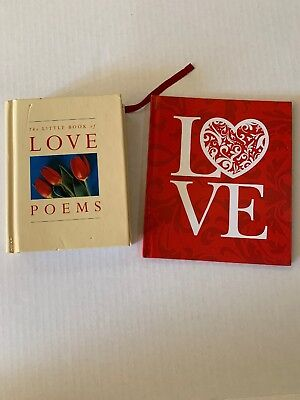 2 Love Poem Books For Valentine's Day Gift