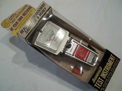 Vintage Automotive Test Equipment Nos Alternator-Diode And Ignition Cable Tester