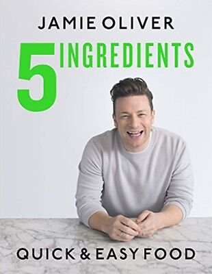 5 Ingredients Quick Easy Food by Jamie Oliver Special Diet Easy Hardcover NEW