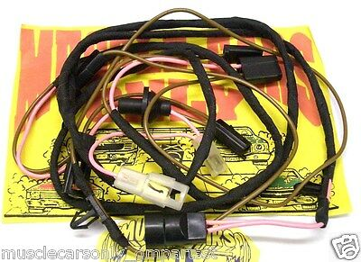 70 71 72 Chevelle El Camino SS 396 454 Cowl Induction Under Hood Wiring Harness