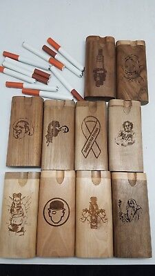 Lot of 10 large styles twist top wood Dugout With one hitter bat pipe us seller