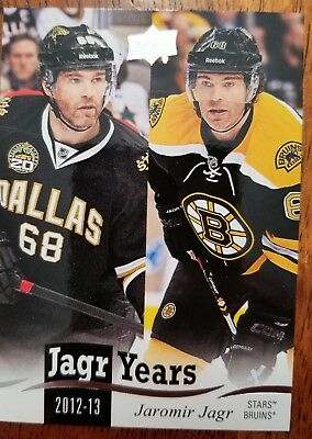 2018-19 Upper Deck Series 1 - Jagr Years - Complete your set!