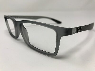 f50904f871 Ray Ban Carbon Fiber Eyeglasses RB8901-5244 Gray Frame 55-17-145mm Full
