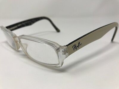 88d93b167b Ray Ban Eyeglass Frames RB5179-2420 Black Marble Clear 51-16-135mm Full