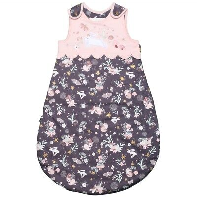 Piper & Posie Baby Girl's Rounded Woodland Fairies Sleeping Bag 6-18 Months