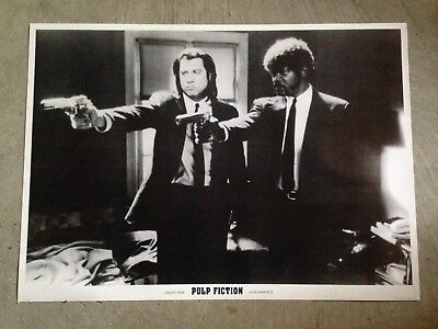 "Pulp Fiction poster 24.5"" x 34.5"" - VINCENT VEGA AND JULES WINNFIELD"