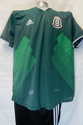 38d479943 2018 ADIDAS SOY MEXICO Jersey LARGE Soccer Mens Short Sleeve L Sleeved